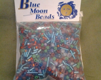 On Sale Blue Moon Beads Econ Mini Bead Mix Winter/ 100 gr.  Elizabeth Ward and Company