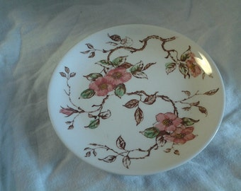 On Sale Collectible China Nasco Springtime 6 inch Serving Plate Made in Japan