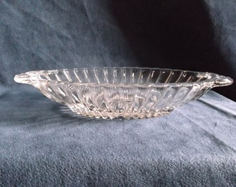 Vintage Glass Candy or Relish Dish