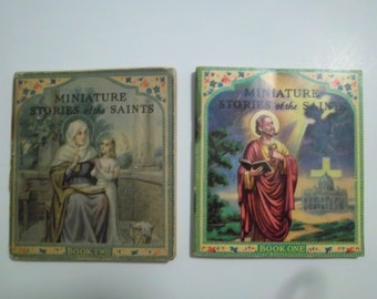 Miniature Stories of the Saints - Books One and Two