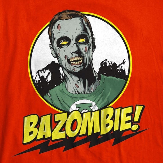 May The 4th Be With You Sheldon Cooper: Bazinga BaZombie The Big Bang Theory Sheldon Cooper Zombie