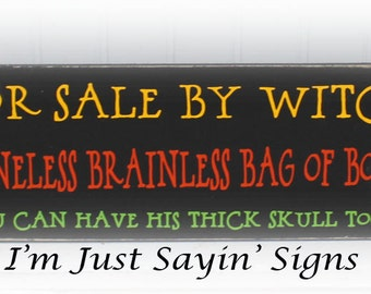 For Sale By Witch Wood Sign