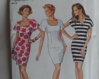 New Look Sewing Pattern 6017 Misses' Dress in Size 6, 8, 10, 12, 14, 16