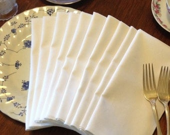 Linen-Cotton Blend Napkins