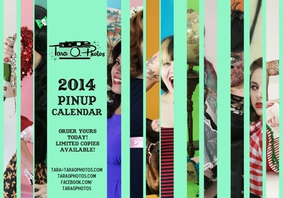 Tara O. Photos 2014 Pinup Portrait Calendar