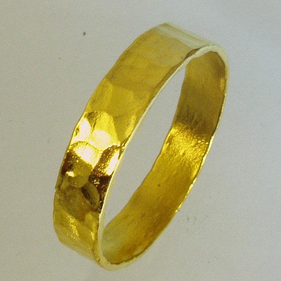 pure gold mens wedding band 24 karat solid gold ring100. Black Bedroom Furniture Sets. Home Design Ideas