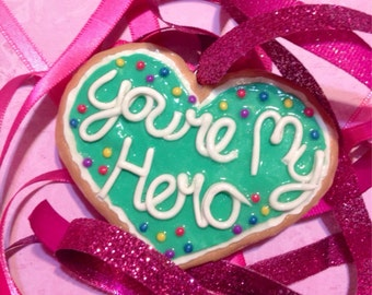 Large Hero's Cookie -- Wreck it Ralph