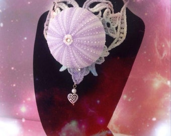 ONE OFF !!! Glinda the white witch of Oz necklace