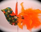Autumn Bird Ornament