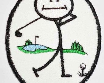 Iron-On Patch - GOLFER