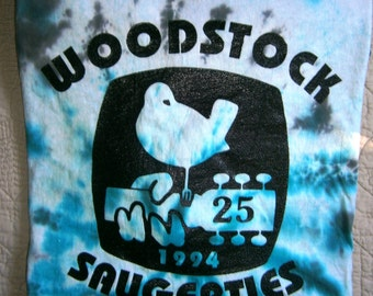 Woodstock Concert Shirt 1994 25th Anniversary, Saugerties, NY, Winston Farm