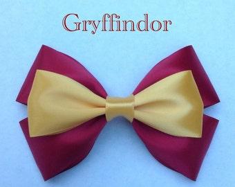 gryffindor  hair bow
