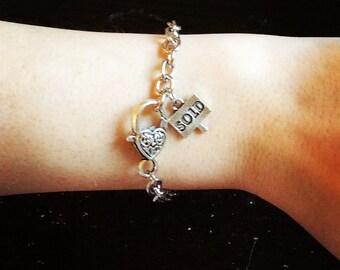 Realtor Charm Bracelet