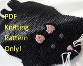PDF KNITTING PATTERN - Cat rug