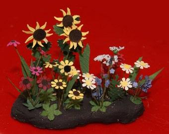 Miniature Dollhouse Flowers:Wildflowers