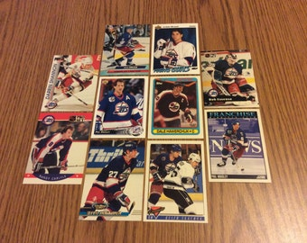 25 Winnipeg Jets Hockey Cards