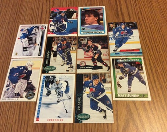 25 Quebec Nordiques Hockey Cards