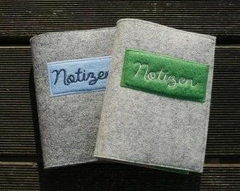 pocketbook, notebook, notes, ideas green