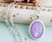 Custom Photo Locket, Silver Vintage Style Jewelry, Inspirational Art Locket Pendant Necklace, Customize Locket insert, Personalized Gift