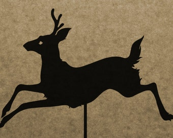 DIY Deer Shadow Puppet Pattern (DOWNLOAD)