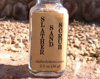 SLATHER SAND SCRUB (Natural Exfoliant Mask)