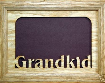 Grandkid Family Picture Frame 5x7