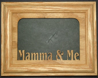 Mamma and Me Picture Frame 5x7