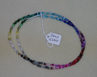 Seasonal Color Analysis Color Swatches in a Necklace