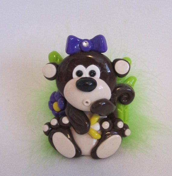 Items similar to monkey gift for girl best gifts for her for Cute decor items