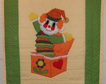 """Handmade Baby Quilts, """"Jack in the Box"""""""