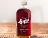 Grade A Dark Vermont Maple Syrup - 100% Natural - 8oz.