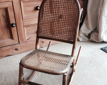 Vintage / Antique Childs Rocking Chair in excellent condition - Pick Up Only from TN28, England.