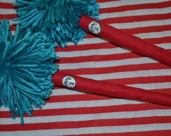 Thing 1 & Thing 2 inspired pen set for guest book sign in station dr seuss party teachers gift