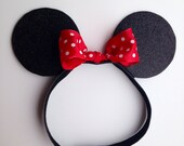 Minnie Mouse Inspired Ears Headband