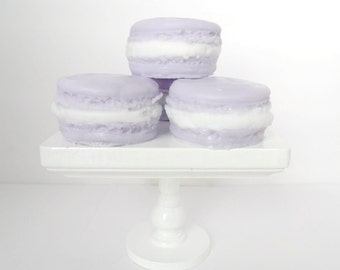 Blackberry Vanilla Macaroon Soaps - 4 Set