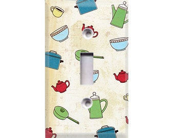 Pots and Pans Light Switch Cover