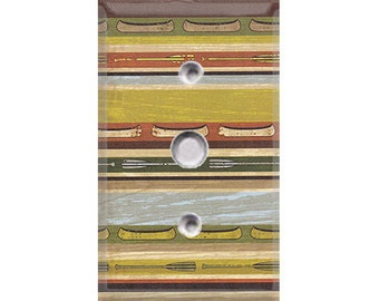 Nature Lover Collection - Canoe Stripes Cable Cover