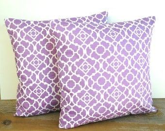 Violet Waverly designer pillow cover, cushion,decorative throw pillow, decorative pillow, accent pillow, 18x18 pillow