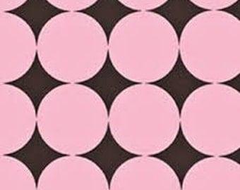 Michael Miller Disco Dot in Pink - 1/2 yard