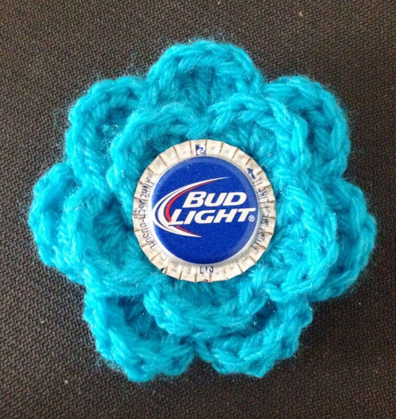 hair clip or brooch Handmade crocheted May rose flower hair clip ...