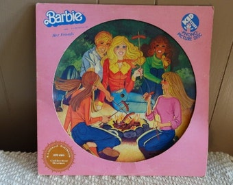 Limited Edition Barbie Vinyl Record- Phono Picture Disc 1981