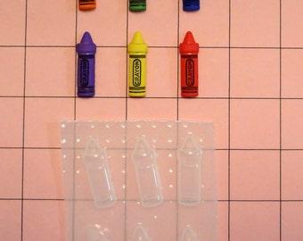 Cute Crayons Resin Mold