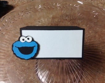 Cookie Monster  Food/Name cards