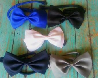 9 color options, Boys Bow Tie, Baby Boy Bow Tie, Boys Tie Photo Prop