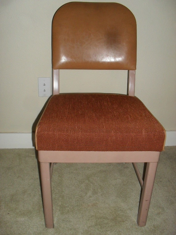 Vintage Harter Furniture Co Metal Office Chair By Vintagespecialty