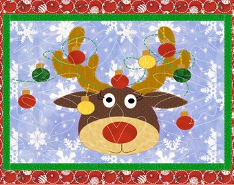 Rudolph Christmas Placemats