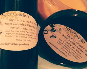 Super Condish -  100% unfooled around with Amazing Hair Conditioner with super powers No Sulfates, No Parabens