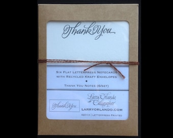 Thank You Notecards (6/box)