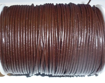 D-02629 - 1m. Genuine Leathercord 2mm