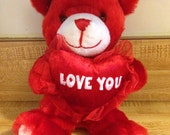Wax Dipped Valentines Day Bear Room/Air Freshener You Pick Wax & Scent Ofg Team